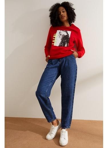 Setre Sweatshirt Kırmızı